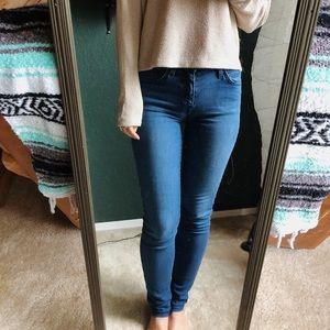 Current/Elliott blue jeans